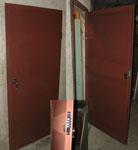 Метална врата за мазе – 180 лв.