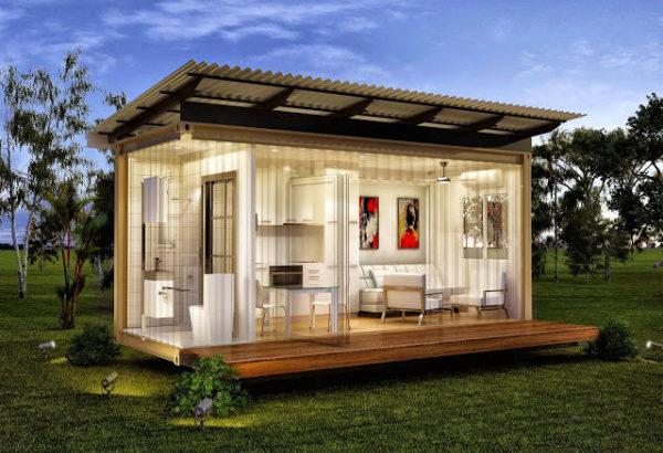 Модулни къщи