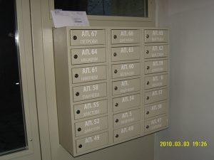 Метални Пощенски Кутии за Входове