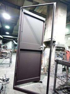 Метални врати със секретна брава Mauer – един лист ламарина 2